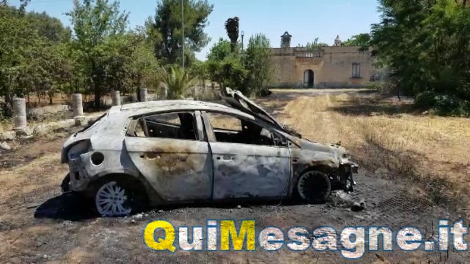 Morto l'anziano coinvolto nell'incendio dell'auto sulla Mesagne – Latiano