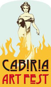 Logo Cabiria Art Fest BLACK