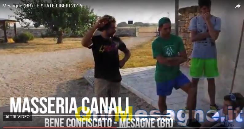 E!STATE LIBERI! 2017 – PUGLIA, a Mesagne da tutta Italia per il campo volontariato di Libera
