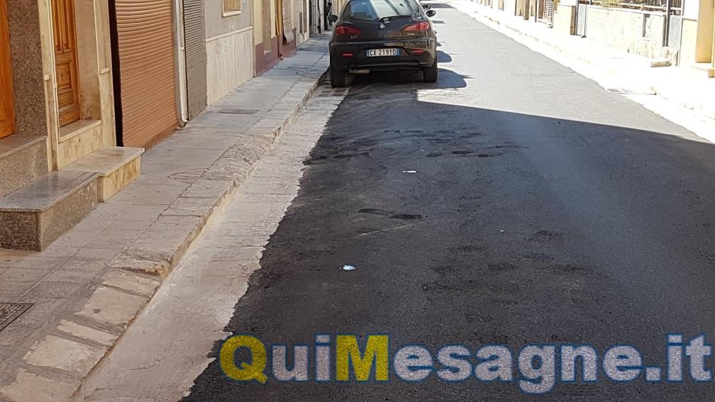 UFFICIO RECLAMI – Via Umbria, il nuovo manto stradale presenta qualche difetto