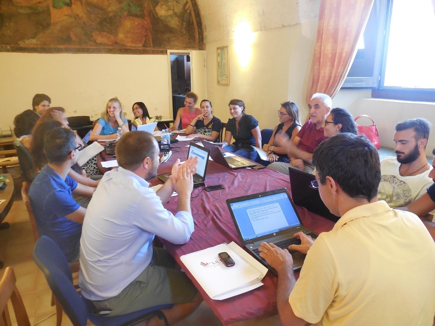 Brain Storming in ISBEM fra Studenti e Ricercatori Convento dei Cappuccini (1503)