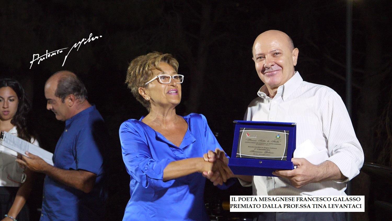 Alezio (Le), primo premio assoluto per il poeta mesagnese Francesco Galasso