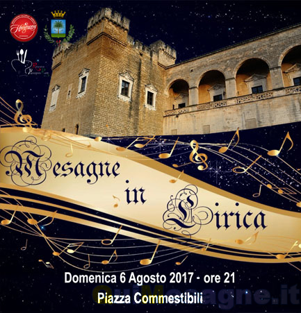 """Domenica in Piazza Commestibili in scena """"Mesagne in lirica"""""""