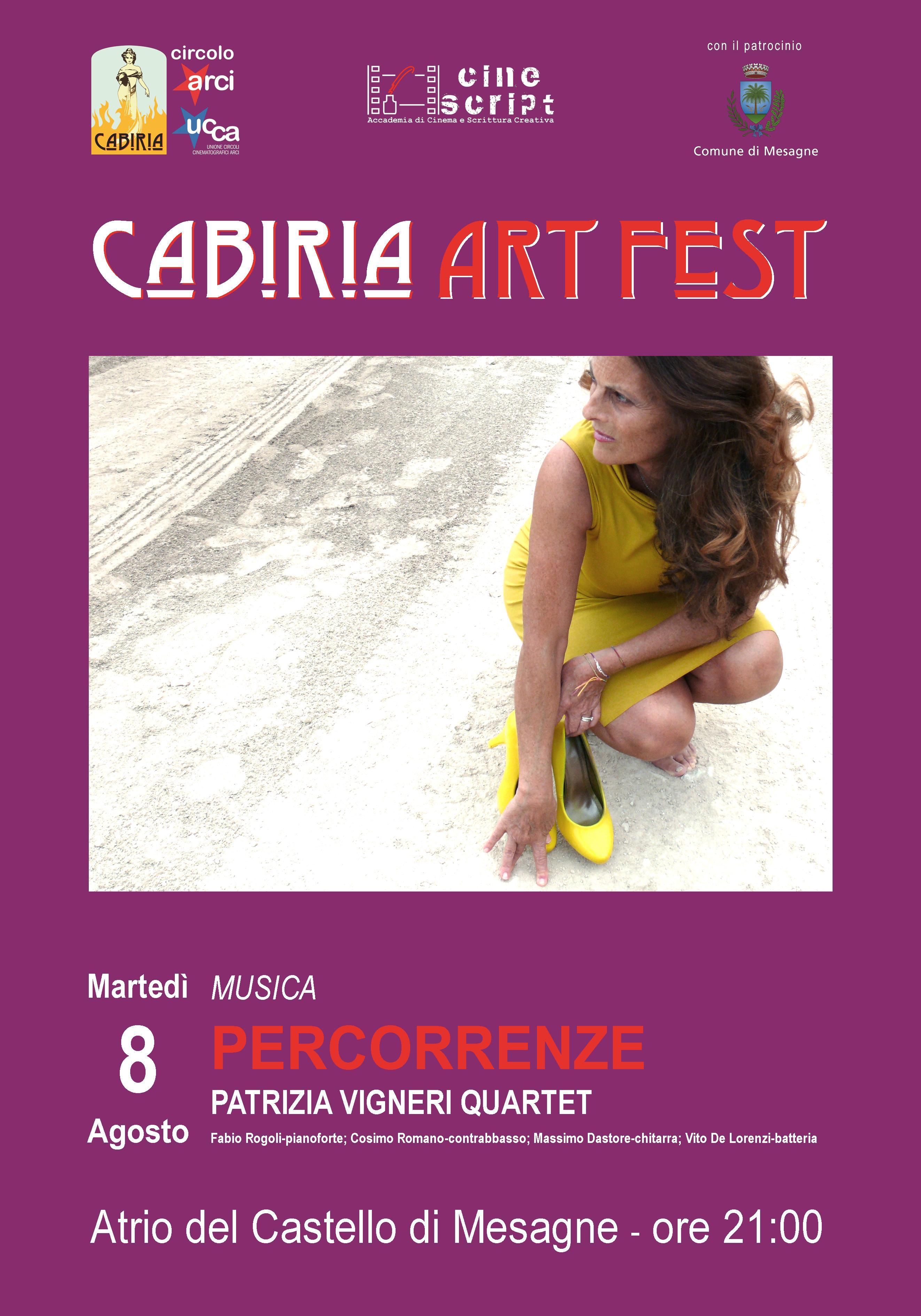 Cabiria Art Fest, omaggio ai grandi autori italiani in chiave jazz
