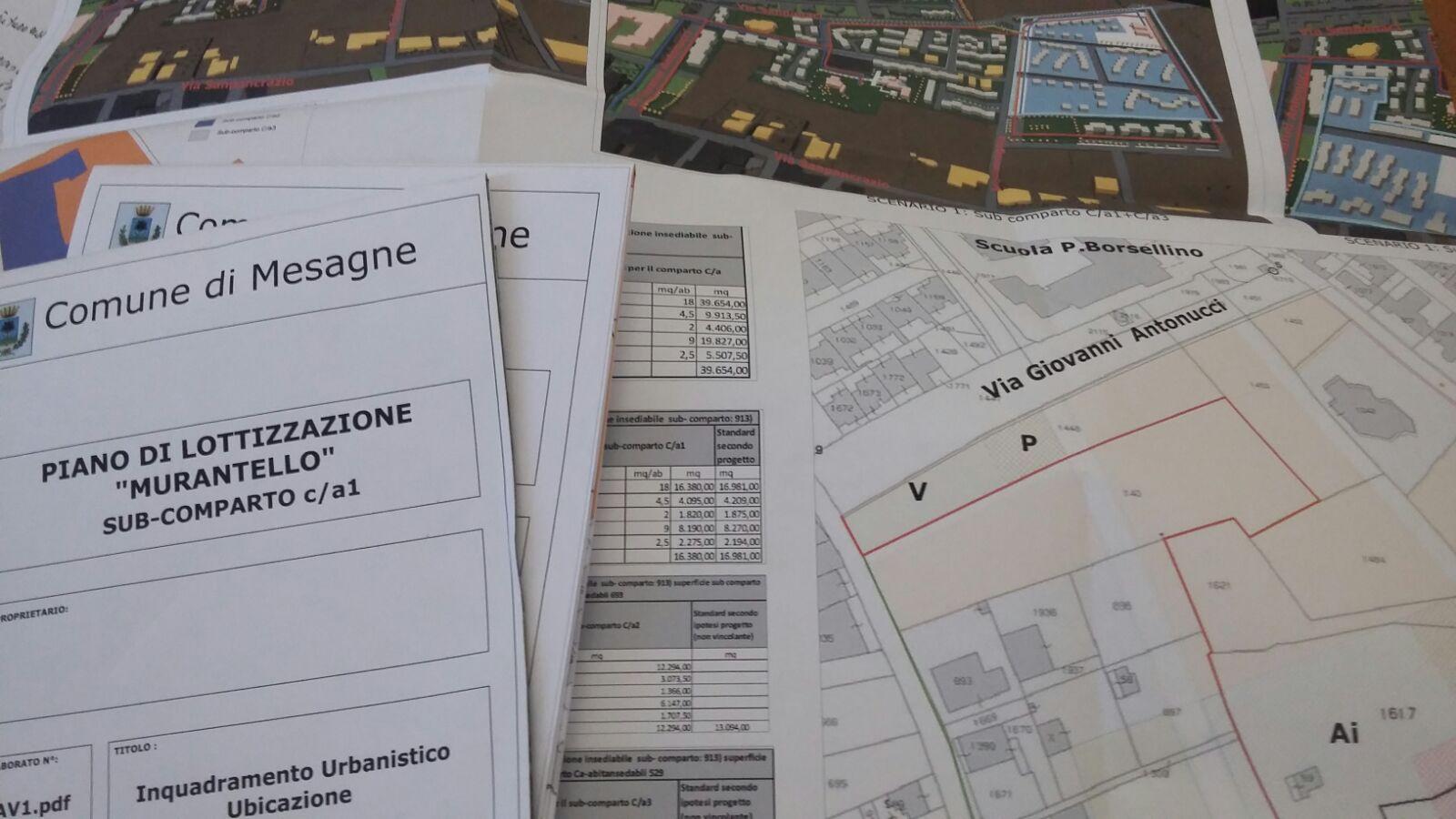 """La Giunta Molfetta approva il piano di lottizzazione zona """"Murantello"""""""