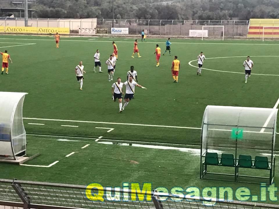 Ugento – Mesagne 1 – 2, doppietta di Fabio Disantantonio