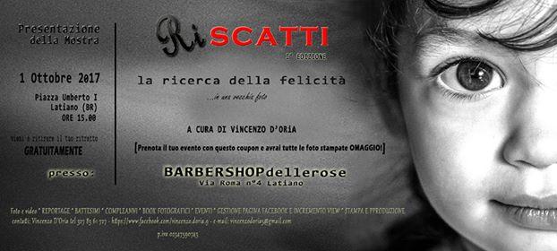 """Latiano, domenica 1 ottobre presentazione della mostra """"Riscatti"""" di Vincenzo D'Oria"""