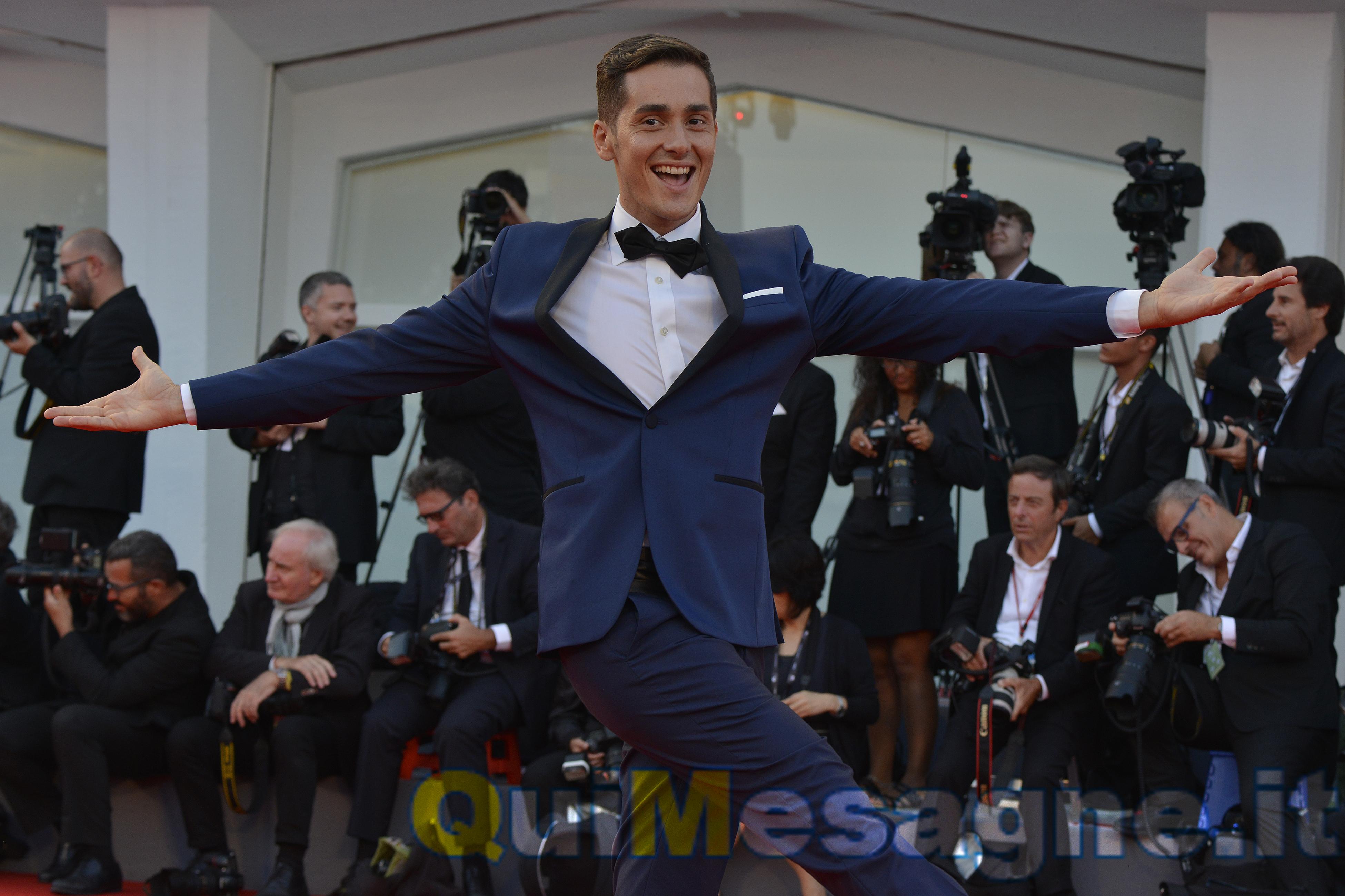 Vincenzo Mingolla porta la danza sul red carpet di Venezia74