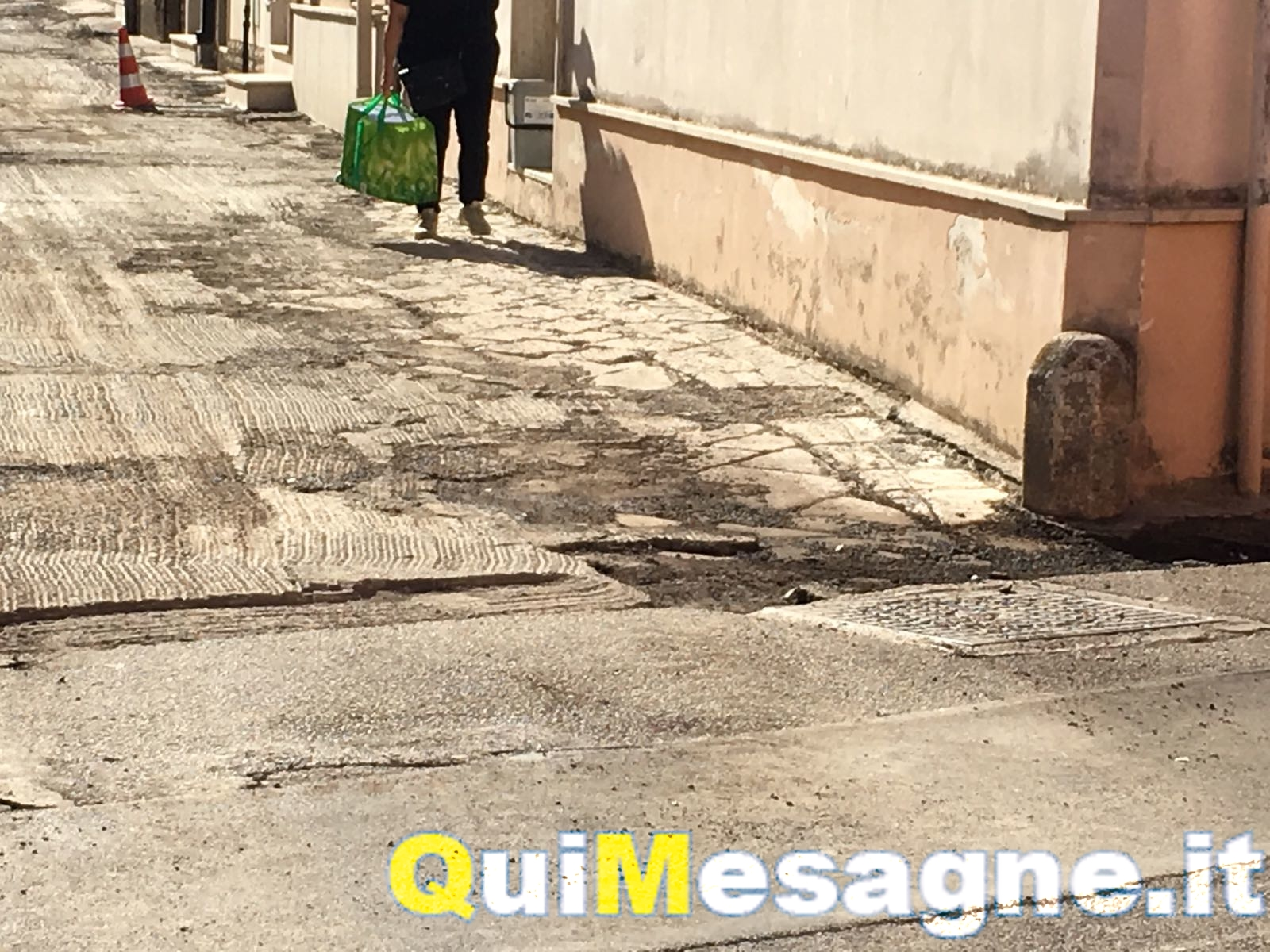 """L'assessore Palma Librato promette: """"Faremo di tutto per salvare le chianche di via Gianpietro Zullo"""""""