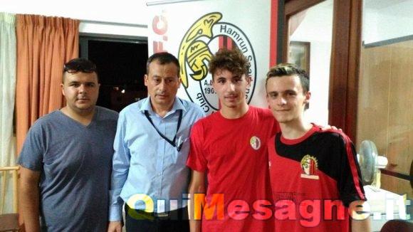 Il mesagnese Alessio Carluccio va a giocare nel Ħamrun Spartans Football Club, Serie A di Malta