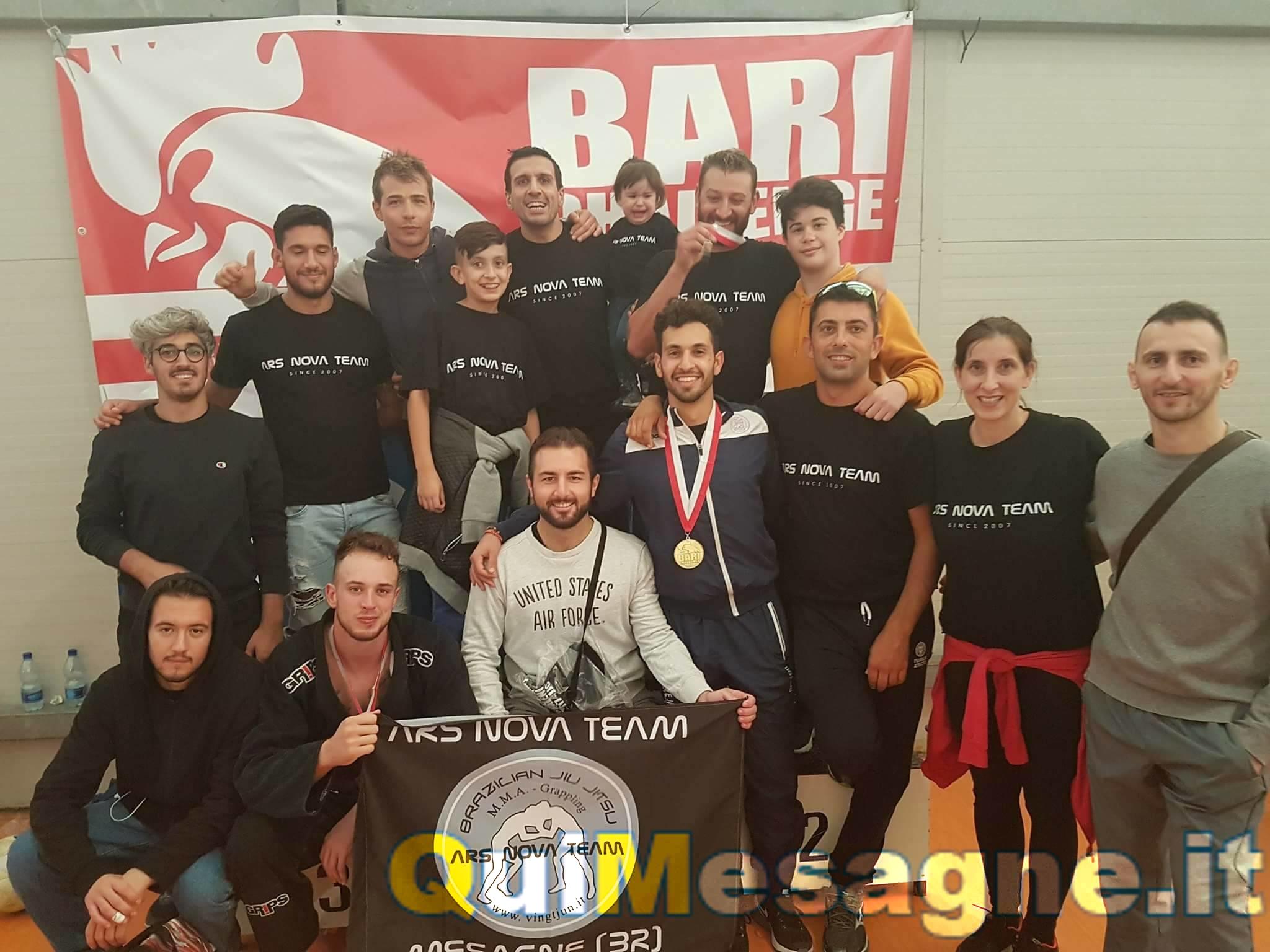 Bari Challenge 2017, sul podio gli atleti dell'Ars Nova Team Mesagne