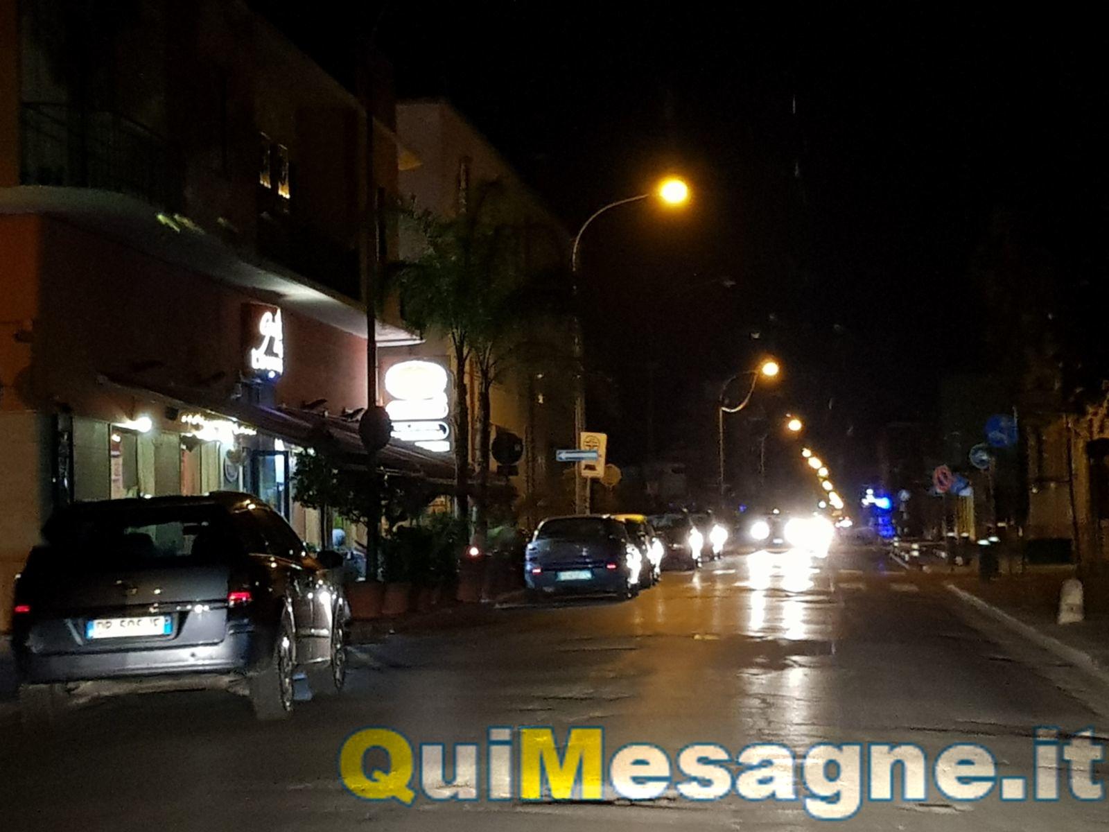 UFFICIO RECLAMI – Di notte Via Marconi parzialmente al buio. Intervenite!