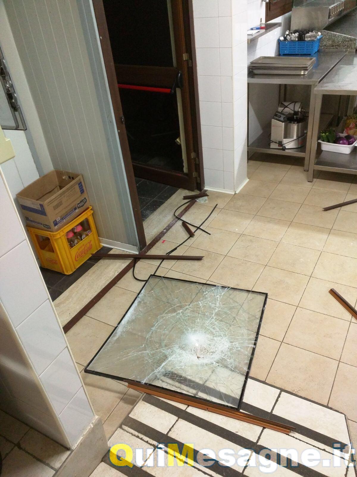 Sventato furto nella notte al ristorante Villa Leta