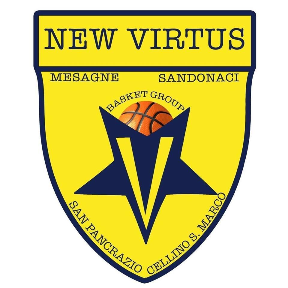 New Virtus Mesagne, quattro giocatori nei campionati giovanili di basket Puglia