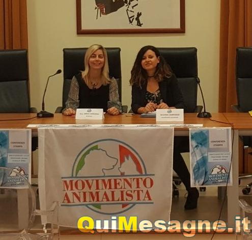 Il Movimento Animalista sbarca a Mesagne, Erika Camarda referente. Ecco il programma
