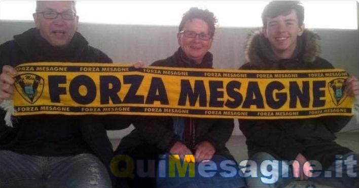 Addio a mamma Hazel la tifosa scozzese del Mesagne Calcio