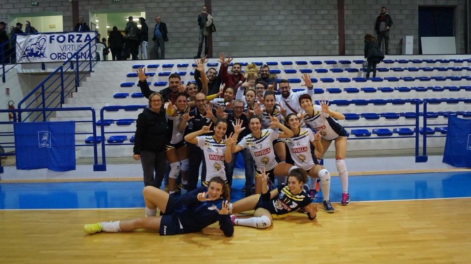 Divella Mesagne Volley: Sette vite, come i gatti – di Mauro Poci
