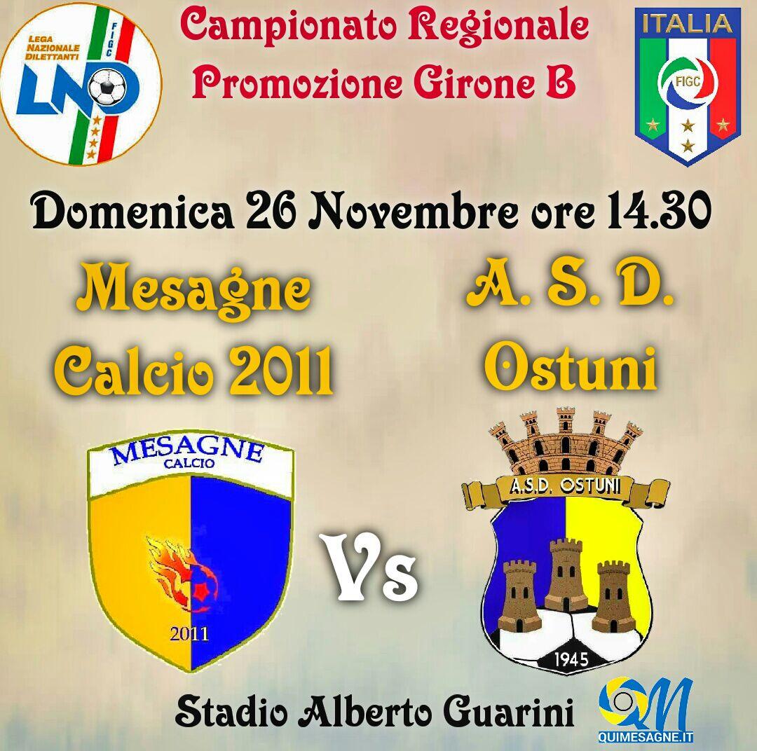 "Big Match al ""Guarini"": Domenica arriva l'Ostuni"
