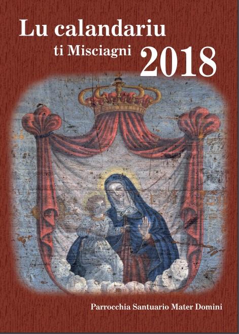 """Pubblicato """"Lu Calandariu ti Misciagni"""" 2018, quest'anno tutto dedicato ai sagrestani"""