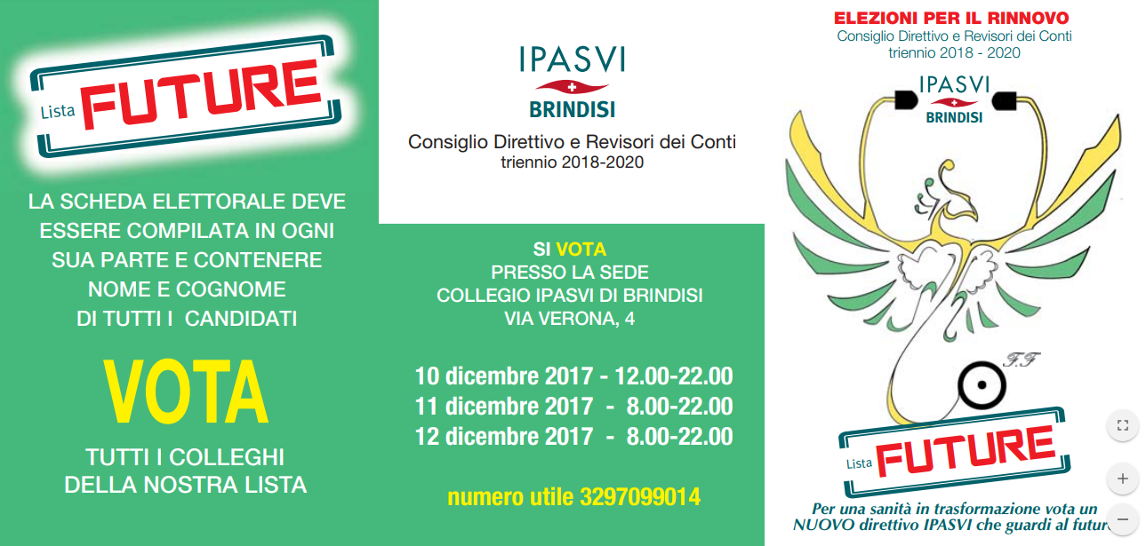 """Dal 10 al 12 dicembre gli infermieri rinnovano il Collegio, le proposte della """"Lista Future"""""""