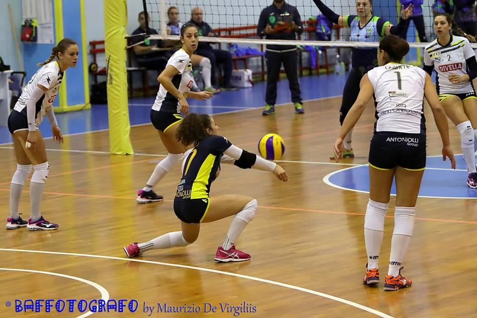 Volley femminile, Domenica c'è il derby Mesagne – Oria. Intervista a Martina Zurlo