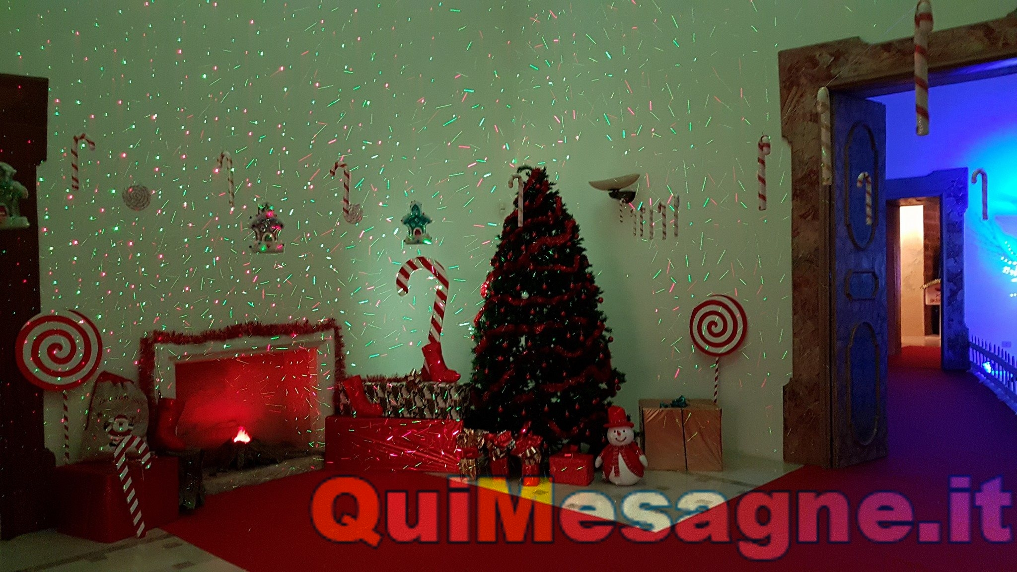 Inaugurato il Castello di Babbo Natale