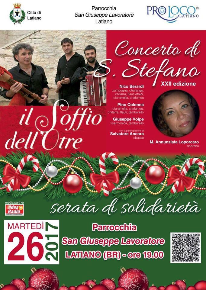 Latiano, XXII Concerto di Santo Stefano