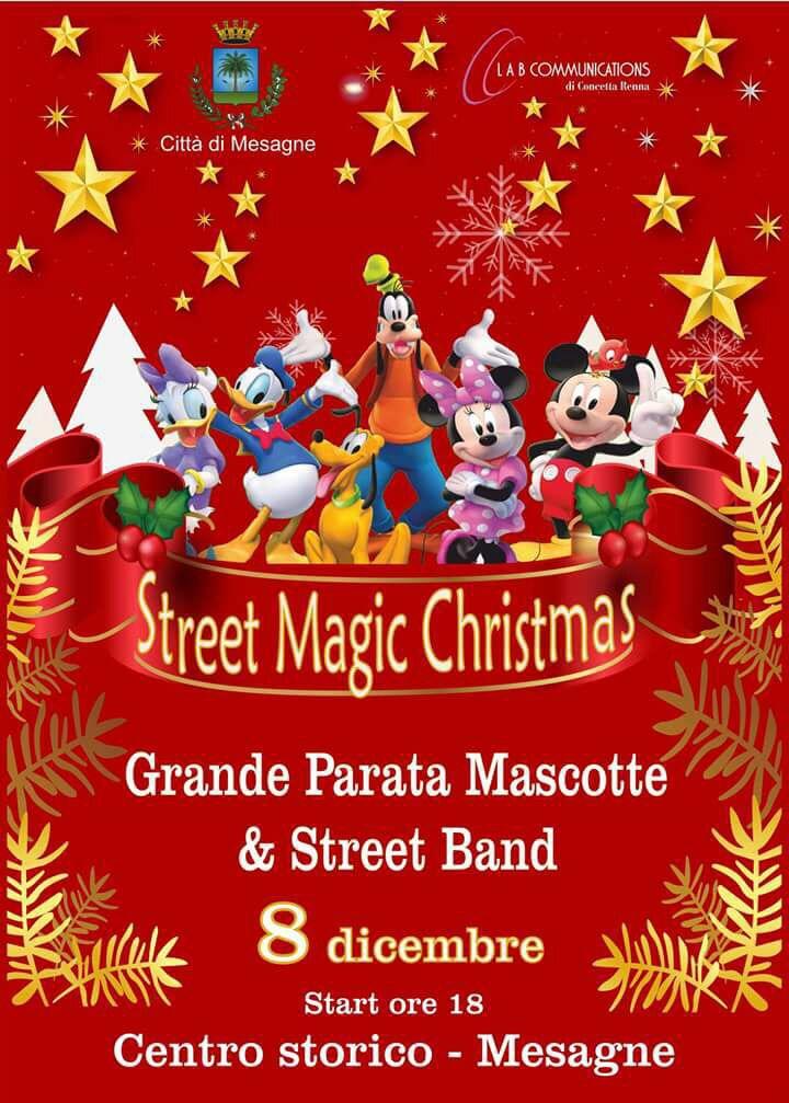 "L'8 dicembre da Parco Potì al Centro Parata ""Street Magic Christmas"""
