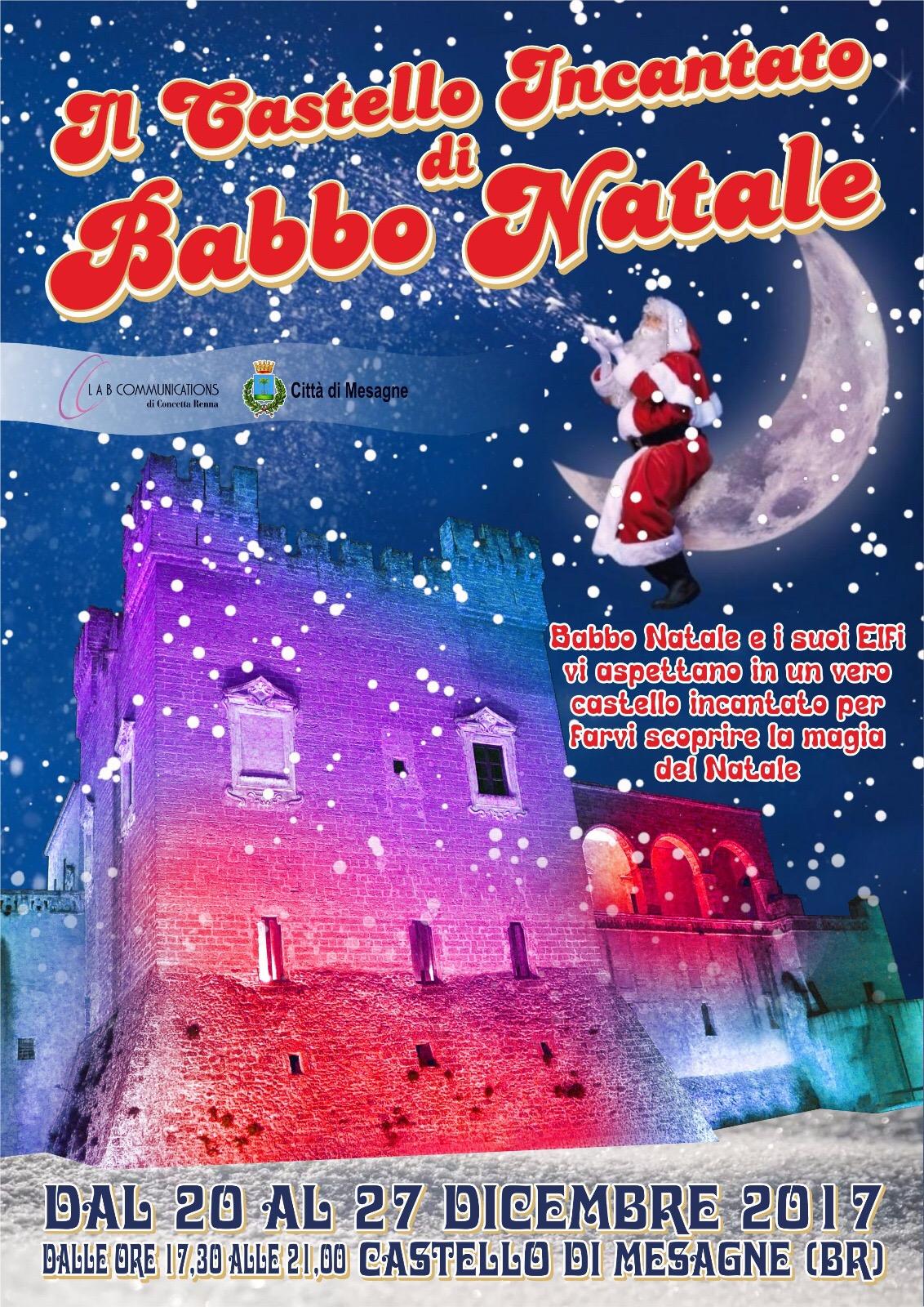 """Dal 20 al 27 dicembre c'è """"Il Castello di Babbo Natale"""""""
