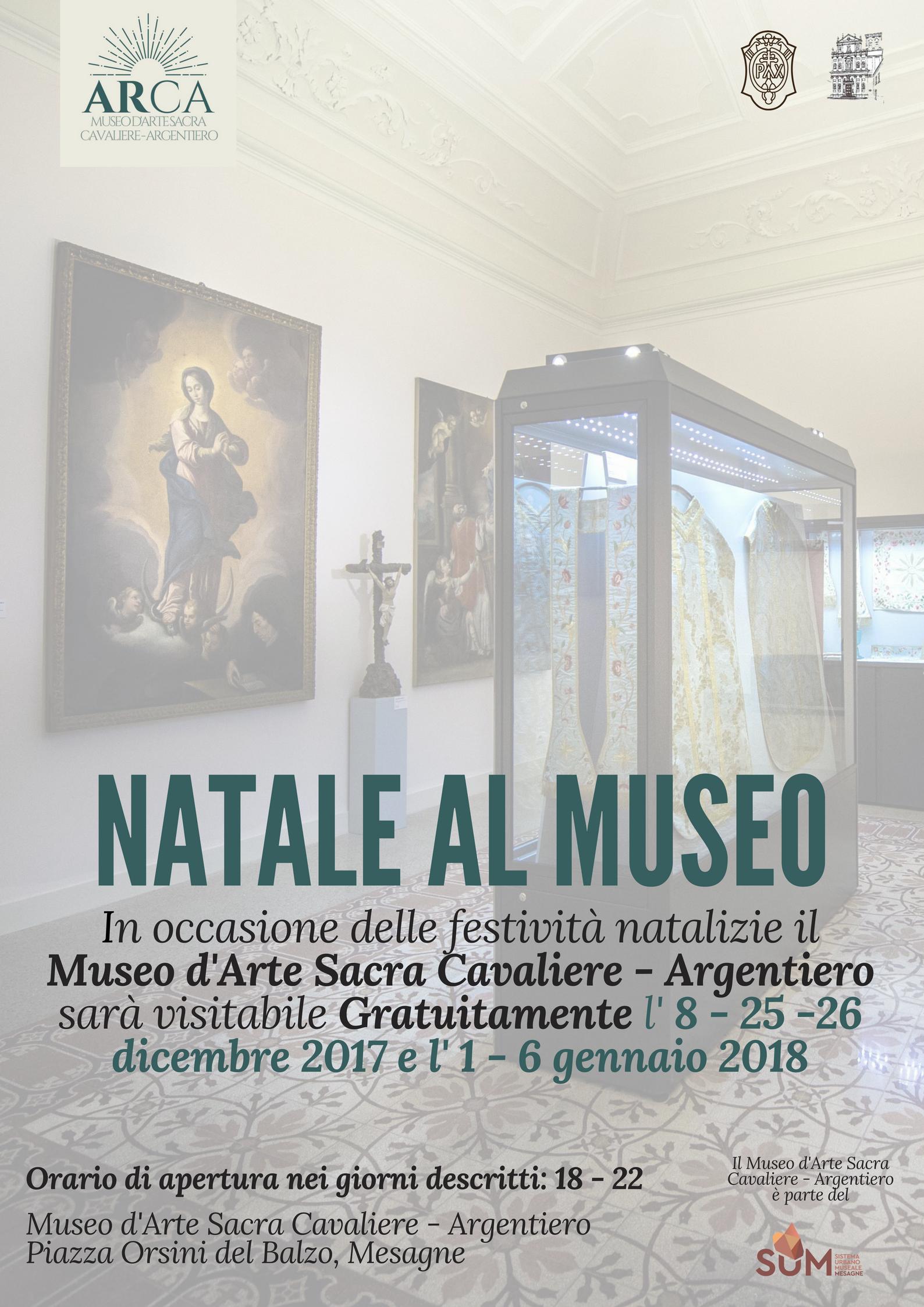 Museo Arte Sacra: nei giorni festivi ingresso gratuito