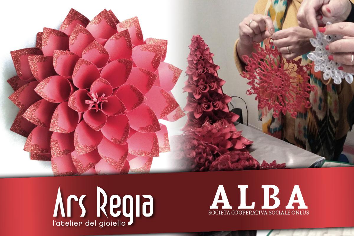 Cooperativa Alba e Ars Regia Gioielli insieme per un Natale solidale
