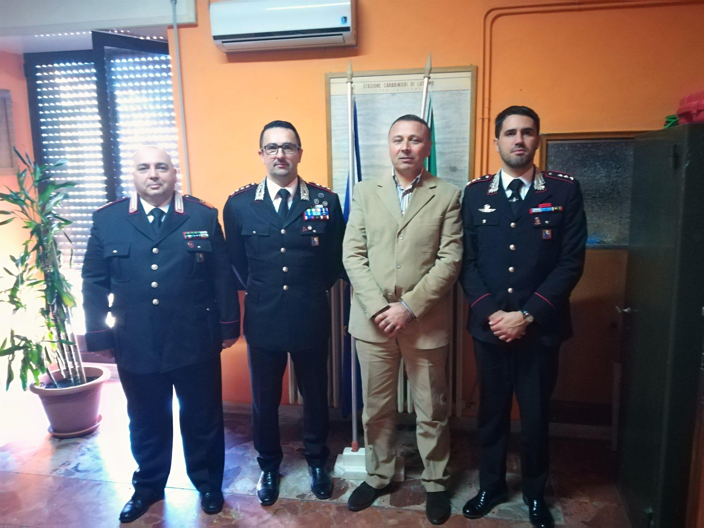 Carabinieri, il Brigadiere capo Cesareo Giuseppe Natale lascia Latiano