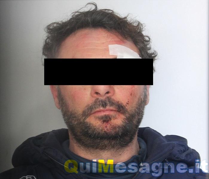 Mesagne, Spericolata fuga su auto rubata. Arrestato torrese per resistenza a pubblico ufficiale
