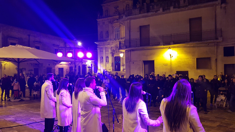 Anche a Capodanno tanta gente per il Borgo dei Presepi a Mesagne
