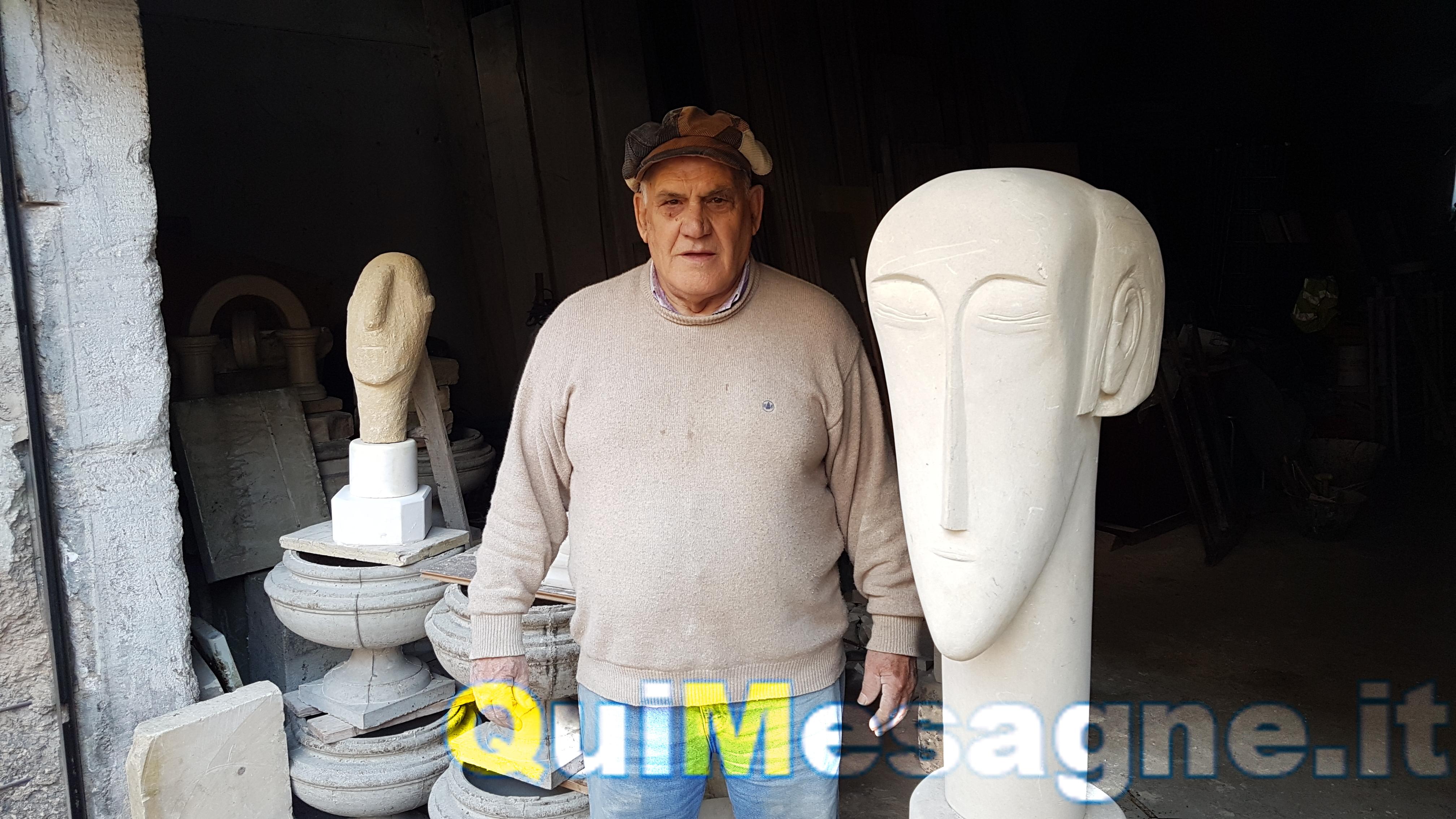 """Maestro Armando Zanzico il """"Modigliani"""" di Mesagne"""