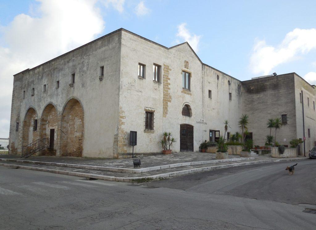Convento dei Cappuccini (1503) a Mesagne_sede operativa dell'ISBEM