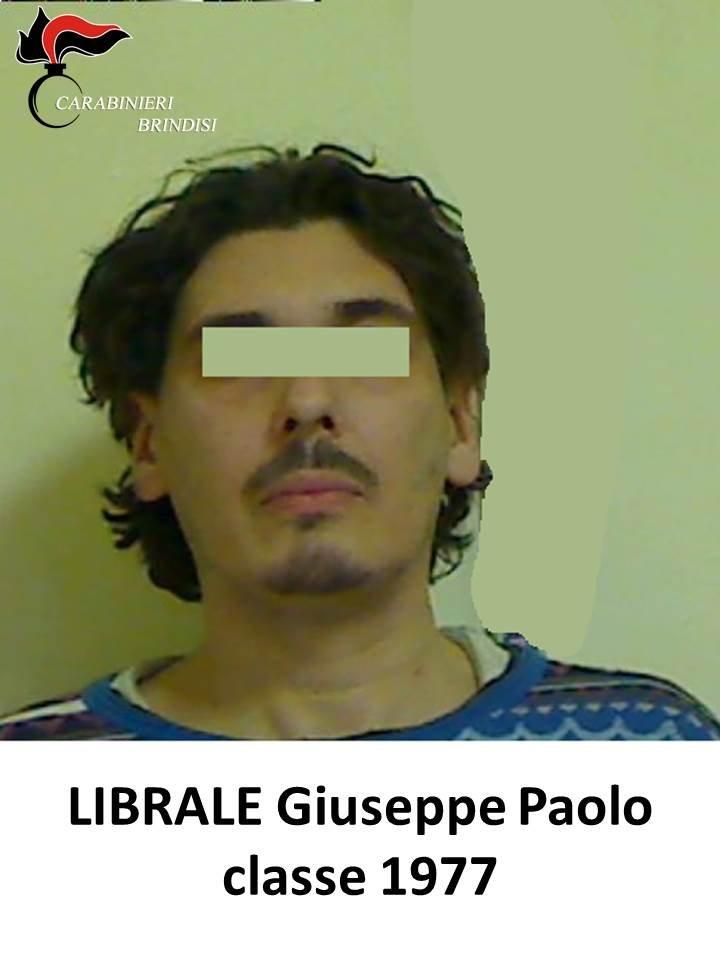 Mesagne: deve espiare 3 anni e 10 mesi per spaccio di stupefacenti, estorsione e lesioni, arrestato