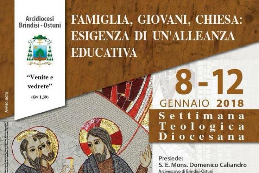Al via oggi la Settimana Teologica della Diocesi di Brindisi-Ostuni
