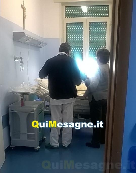 Ricoverata la prima paziente nell'Ospedale di Comunità a Mesagne