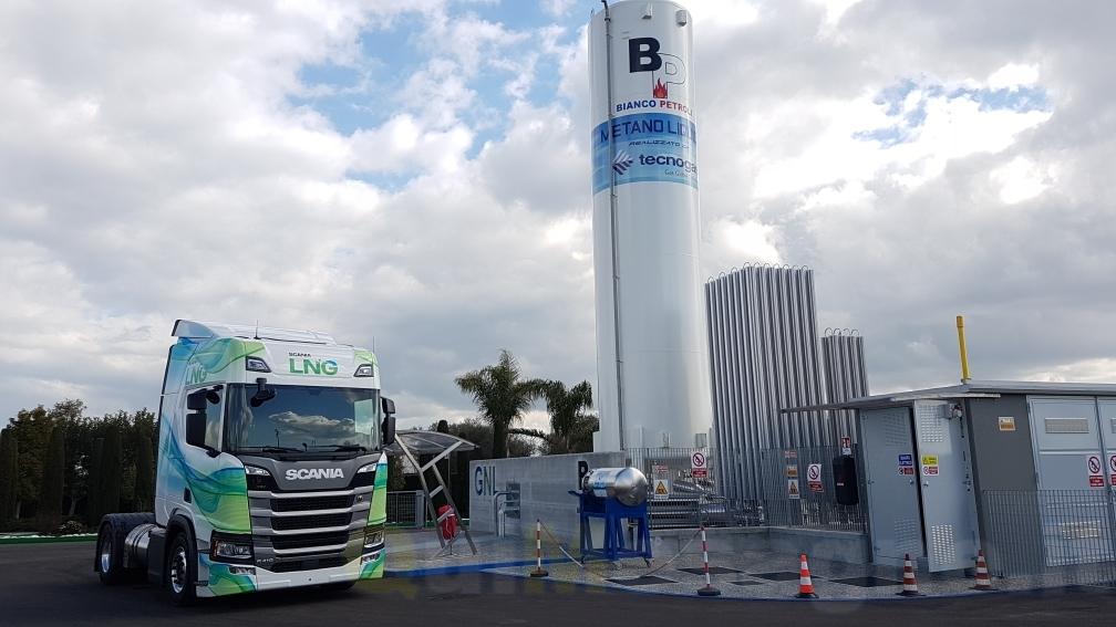 Inaugurato l'impianto a Metano del Gruppo Bianco Petroli