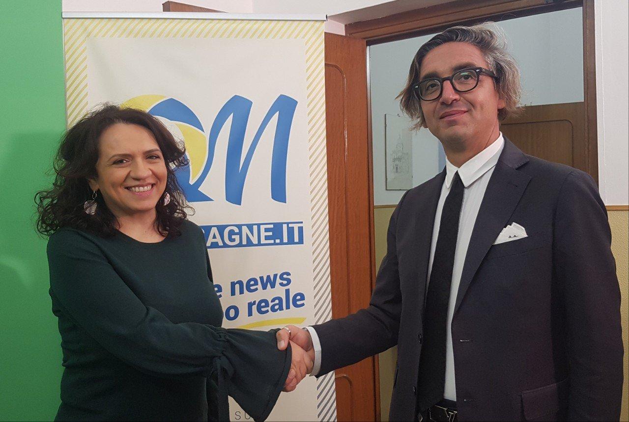 Antonio Andrisano ed Elisa Mariano a confronto su Quimesagne.it