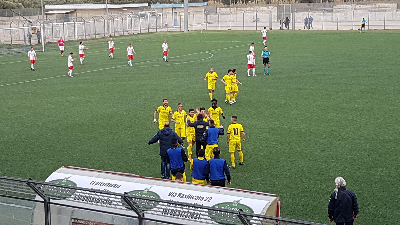 Mesagne calcio contro il Maglie trova una vittoria e punti fondamentali