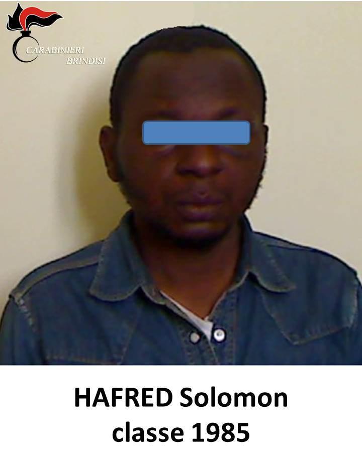 Latiano: arrestato per resistenza a pubblico ufficiale, lesioni e violazione di domicilio