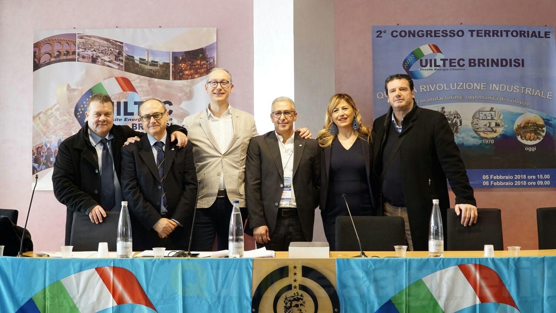 Il mesagnese Carlo Perrucci confermato Segretario Generale della Uiltec Brindisi