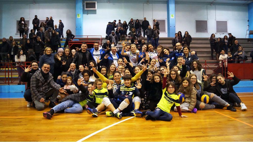 Mesagne Volley, domenica è derby contro l'Oria