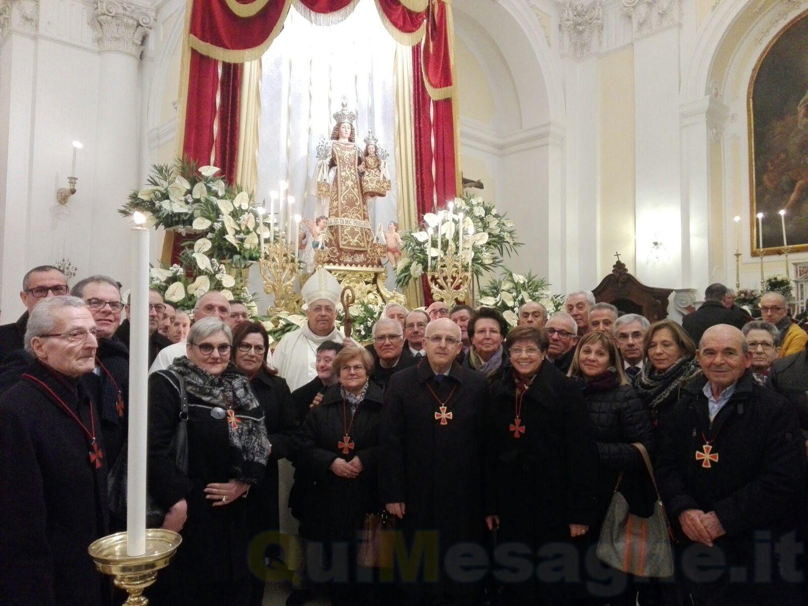 Nel giorno del Patrocinio della Madonna nasce a Mesagne la Confraternita del SS. Crocifisso