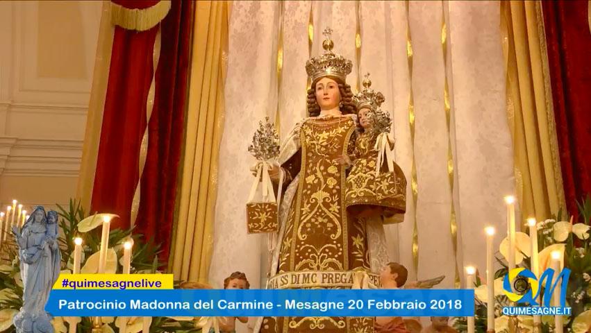 Patrocinio Madonna del Carmine – Diretta Santa Messa