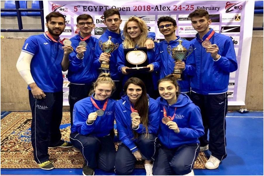 Taekwondo, il mesagnese Davide Spinosa conquista l'argento nell'Egypt Open