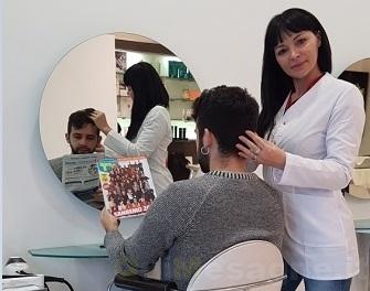 Sanremo 2018, la mesagnese Ursula Emiliano tra gli hair stylist di Vitality's