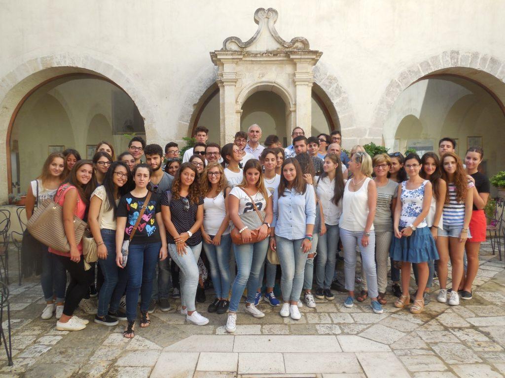 Alternanza SCUOLA LAVORO RICERCA Studenti del LILLA in ISBEM a Mesagne 31 Agosto 2015_1
